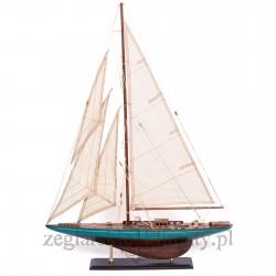 Duży model jachtu wys. 85cm!