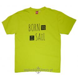 Koszulka męska lenia BORN to SAIL