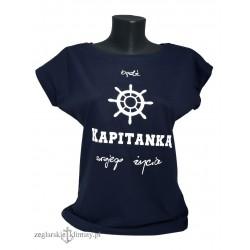 koszulka badź Kapitanką swojego życia!