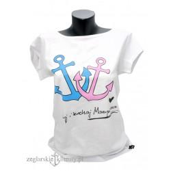 Koszulka Żyj i Kochaj Marynarza na lato