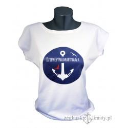 Koszulka Dziewczyna Marynarza biała