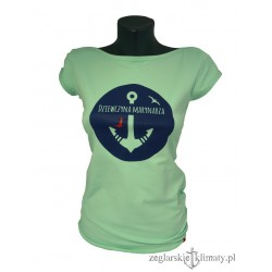 Koszulka na lato dla Dziewczyny Marynarza