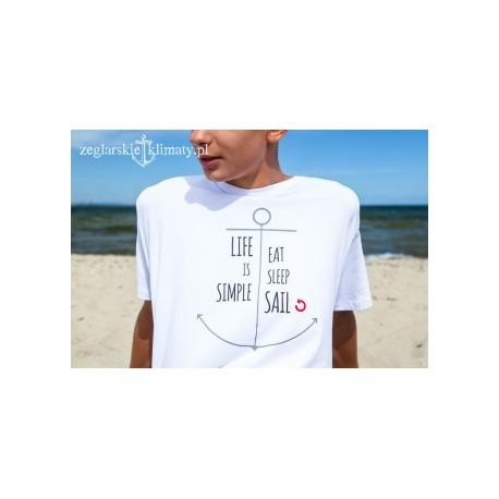 Koszulka męska LIFE is SIMPLE