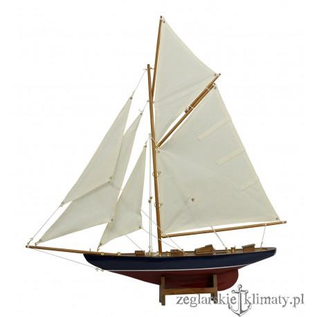 Model jachtu na łożu wys. 67cm