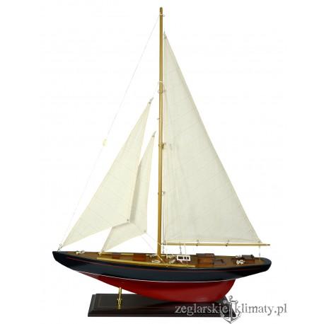 Model jachtu J-class wys. 80cm