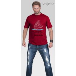 Koszulka męska Żaglowiec