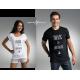 Koszulka damska MIŁOŚĆ - ODLEGŁOŚĆ