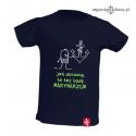 Koszulka dla chłopca Będę Marynarzem 1-8 lat