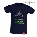 Koszulka dla chłopca Będę Żeglarzem 1-8 lat