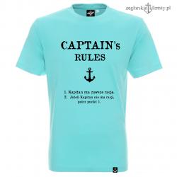 Koszulka męska CAPTAIN's RULES
