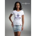 Biała koszulka Bądź KAPITANKĄ