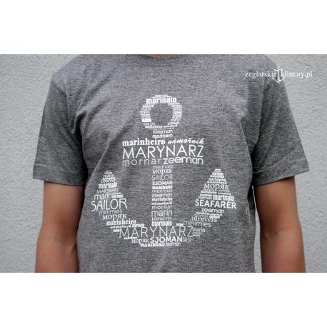Koszulka męska MARYNARZ premium plus