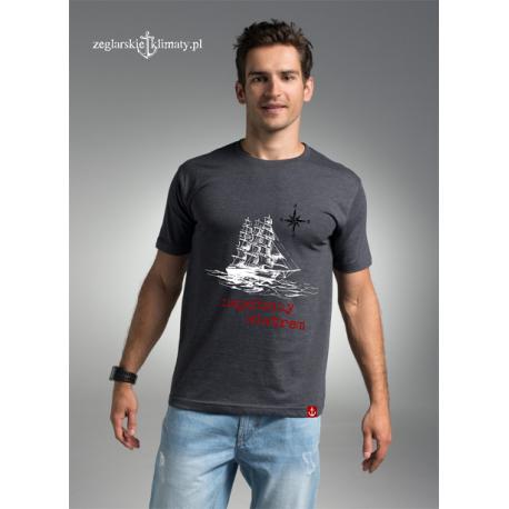 Koszulka męska premium Napędzany wiatrem