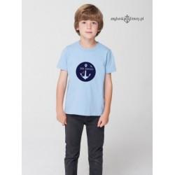 Koszulka błękitna SYNEK MARYNARZA 1-8 lat
