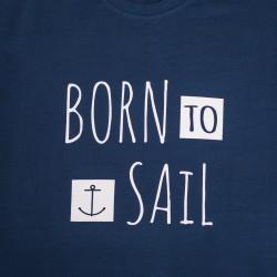 Koszulka męska premium plus BORN to Sail