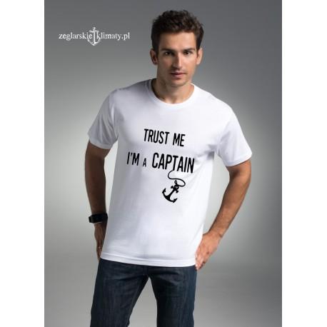 Koszulka męska premium TRUST me....