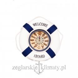 Zegar WELCOME ABOARD