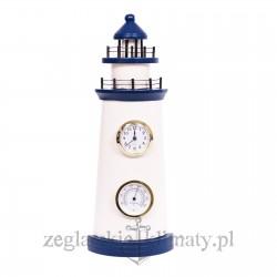LATARNIA morska z zegarem i termometrem