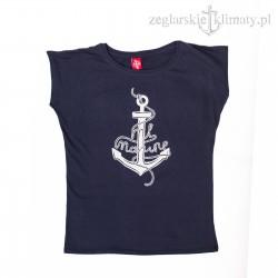 Koszulka damska Kotwica ML Marine - tylko rozmiar M (!)