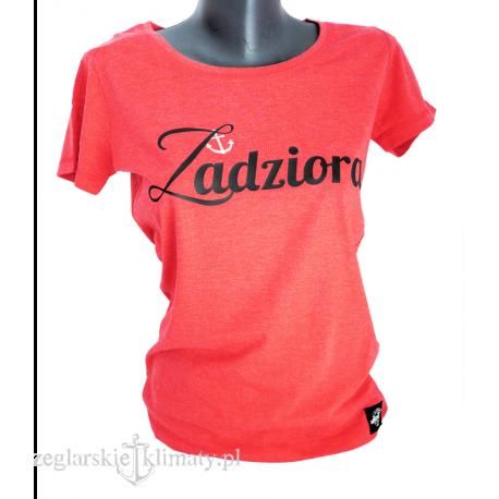Koszulka damska NIESKOŃCZONOŚĆ + MAZURY :-)