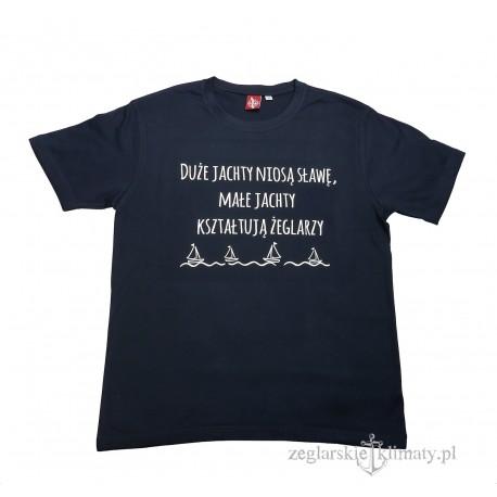 Koszulka męska Małe jachty