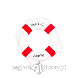 Koło ratunkowe Welcome Aboard 47cm