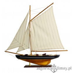 Model jachtu gaflowego wys. 56cm