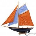 Model jachtu gaflowego wys. 62cm