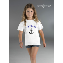 Koszulka dziecięca CAPTAIN