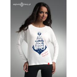 Koszulka z długim rękawem KOTWICA - ŻAGLOWIEC