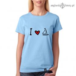 Koszulka damska Love Sailing