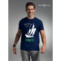 Koszulka męska BORN to be FREE!