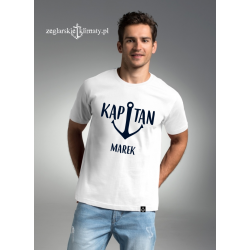Koszulka męska KAPITAN z imieniem :-)