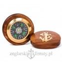 Kompas w pudełku okrągłym