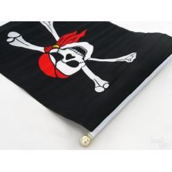 Flaga piracka średnia