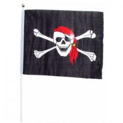 Duża flaga piracka