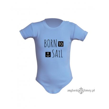Body niemowlęce BORN TO SAIL