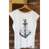 Koszulka damska biała 3D ML Marine