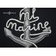 Polo męskie długi rękaw ML Marine