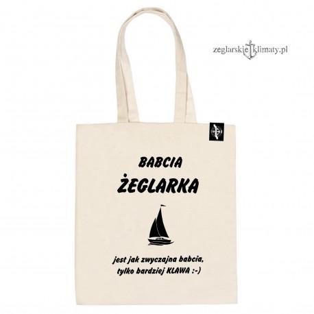 Torba na zakupy Babcia Żeglarka :-)