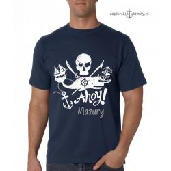 Koszulka męska premium Ahoy! Mazury