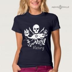 Koszulka damska Ahoy! Mazury