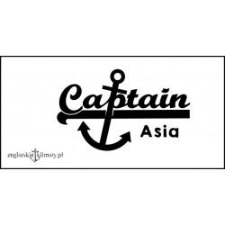Koszulka damska biała Captain