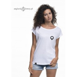 Koszulka damska biała OPTIMIST