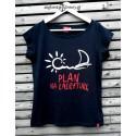 Koszulka damska PLAN na EMERYTURĘ