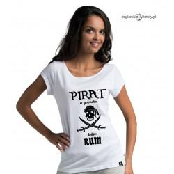 Koszulka damska PIRAT w proszku :-)