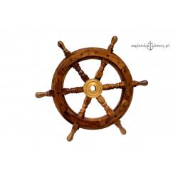Drewniane koło sterowe, palisander - 60cm