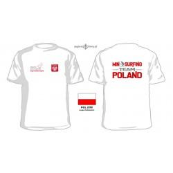 Koszulka męska WINDSURFING TEAM POLAND