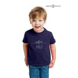 Koszulka dziecięca AHOJ! 1-8 lat