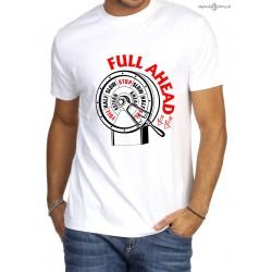 Koszulka męska premium Full ahead!